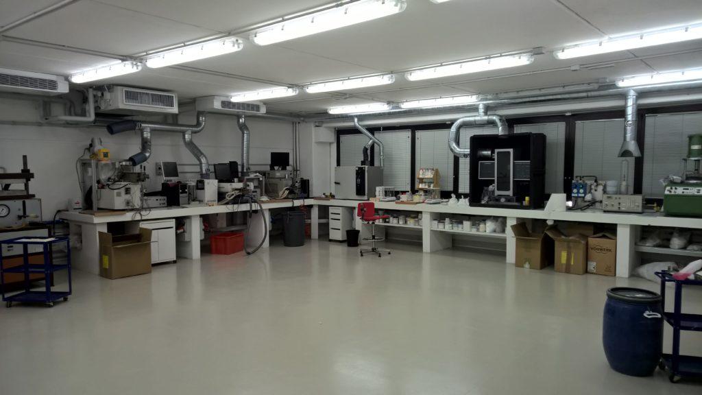 Titanstuc S.p.A.: new laboratory